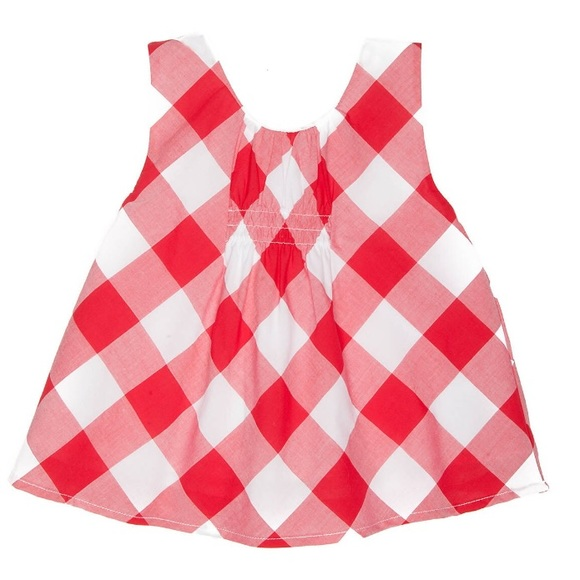 Crown & Ivy Girls Gingham Tank Top-NWT-Size 8